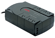 APC BK500 UPS/Surge Protector with 6 Power Outlets