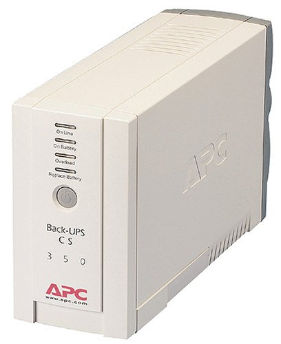 APC BK350 UPS/Surge Protector with 6 Power Outlets