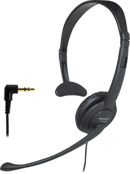 Panasonic KX-TCA86 Headset w/2.5 MM Jack