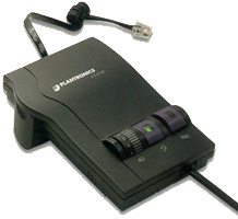 Plantronics PL-M12 Amp For H-Series Headset Compatible with NEC DS1000/2000 & Panasonic KX-TD Phone Systems
